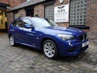 2011 BMW X1 2.0 XDRIVE20D M SPORT 5d AUTO 174 BHP £9995.00
