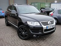 USED 2007 57 VOLKSWAGEN TOUAREG 2.5 ALTITUDE DPF 5d AUTO 172 BHP ANY PART EXCHANGE WELCOME, COUNTRY WIDE DELIVERY ARRANGED, HUGE SPEC