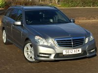 USED 2012 12 MERCEDES-BENZ E CLASS 2.1 E220 CDI BLUEEFFICIENCY S/S SPORT 5d AUTO 170 BHP