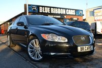 USED 2010 10 JAGUAR XF 3.0 V6 PREMIUM LUXURY 4d 240 BHP SAT NAV, HEATED LEATHER, FSH