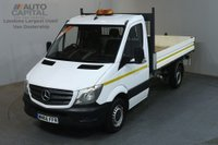 USED 2016 66 MERCEDES-BENZ SPRINTER 2.1 313 CDI MWB 129 BHP 3 SEATER S/CAB TIPPER REAR BED LENGTH 11 FOOT & 4 INCH