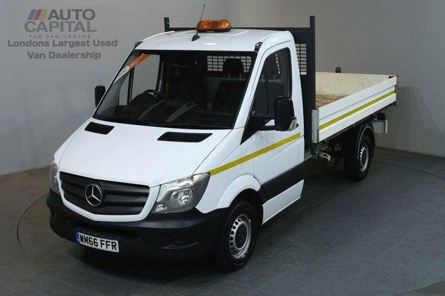 2016 66 MERCEDES-BENZ SPRINTER 2.1 313 CDI MWB 129 BHP 3 SEATER S/CAB TIPPER REAR BED LENGTH 11 FOOT & 4 INCH