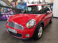 USED 2012 62 MINI HATCH ONE 1.6 ONE D 3d 90 BHP