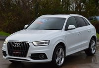 USED 2012 AUDI Q3 2.0 TDI S LINE 5d 138 BHP ***FULL LEATHER*** ***FINANCE DEALS AVAILABLE***