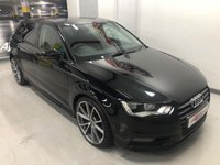 2015 AUDI A3 1.6 TDI ULTRA SE 5d 110 BHP BLACK EDITION STYLING £8995.00