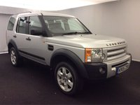 "USED 2005 05 LAND ROVER DISCOVERY 3 2.7 TD V6 HSE AUTO (188 BHP)..7 SEATS..PANORAMIC ROOF PANORAMIC ROOF+19""+PDC+EHM LEATHERS+NAV+CRUISE+7 SEATS"
