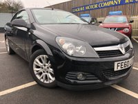USED 2010 60 VAUXHALL ASTRA 1.6 TWIN TOP SPORT 3d 114 BHP CONVERTIBLE + LONG MOT
