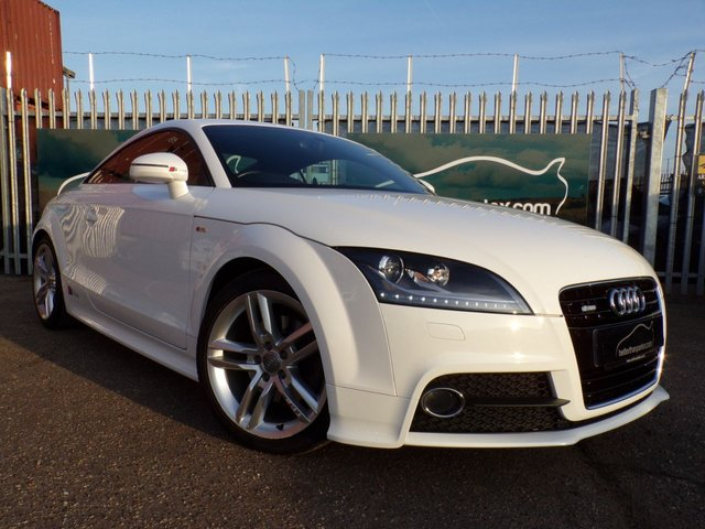 2013 63 AUDI TT 1.8 TFSI S LINE 2d AUTOMATIC 158 BHP SAT NAV ONLY 27,000 MILES 1 OWNER