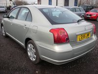 USED 2005 55 TOYOTA AVENSIS 2.0 T2 D-4D 5d 114 BHP 1 Previous owner - FSH - Cambelt changed