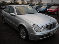USED 2005 55 MERCEDES-BENZ E CLASS 2.1 E220 CDI CLASSIC 4d AUTO 150 BHP Leather