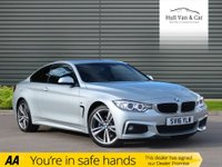 USED 2016 16 BMW 4 SERIES 2.0 420D XDRIVE M SPORT 2d 188 BHP SAT NAV,LEATHER,DAB,BLUETOOTH