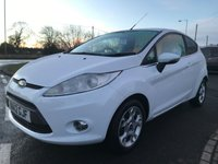 2012 FORD FIESTA 1.2 ZETEC 3 DOOR 31000 MILES IN WHITE VERY NICE LITTLE CAR  £5295.00