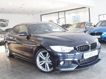2015 BMW 4 SERIES GRAN COUPE 2.0 420I XDRIVE M SPORT GRAN COUPE 4d AUTO 181 BHP £17990.00