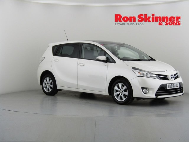 View our 2015 65 TOYOTA VERSO 1.6 D-4D ICON 5d 110 BHP