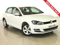 USED 2014 64 VOLKSWAGEN GOLF 1.6 MATCH TDI BLUEMOTION TECHNOLOGY 5d 103 BHP 1 Owner/Bluetooth/DAB/Air Con