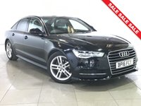 USED 2016 16 AUDI A6 2.0 TDI ULTRA S LINE NAV 4d AUTO 188 BHP 1 Owner/Sat Nav/Black Leather