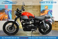 2016 TRIUMPH SCRAMBLER BONNEVILLE SCRAMBLER - 1 Owner from new £6494.00