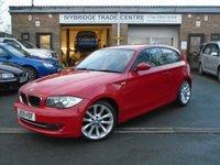 2009 BMW 1 SERIES 2.0 118D SPORT 3d 141 BHP £4295.00