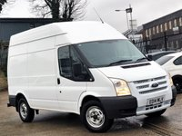 2014 FORD TRANSIT 2.2 350 HIGH ROOF 1d 99 BHP £7777.00