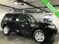 USED 2014 64 LAND ROVER FREELANDER 2.2 SD4 SE 5d AUTO 190 BHP Bluetooth  :  Leather upholstery    :    Heated front seats    :    Heated front screen    :    DAB radio