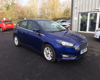 USED 2015 65 FORD FOCUS 1.0 ZETEC NAVIGATOR 100 BHP THIS VEHICLE IS AT SITE 2 - TO VIEW CALL US ON 01903 323333