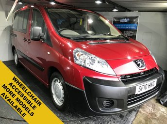 2010 PEUGEOT EXPERT 1.6 TEPEE COMFORT L2 HDI  5d 89 BHP    Wheelchair Accessible £6450.00