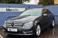 2013 MERCEDES-BENZ C-CLASS 2.1 C220 CDI BLUEEFFICIENCY AMG SPORT 4d AUTO 168 BHP £11740.00