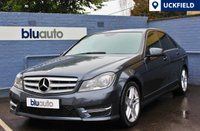 USED 2013 62 MERCEDES-BENZ C 220 2.1 CDI BLUE EFFICIENCY AMG SPORT 4d AUTO 168 BHP Three Mercedes-Benz Services, Front & Rear Parking Sensors, Navigation Prep, Bluetooth with Audio Streaming, Cruise & Dual Climate Control.