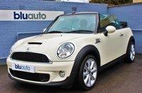 2011 MINI CONVERTIBLE 1.6 COOPER S 2d 184 BHP £8980.00