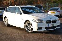 "2012 BMW 5 SERIES 2.0 525D M SPORT TOURING 5d AUTO 215 BHP ~ 19"" ALLOYS ~ PRO NAV £11999.00"