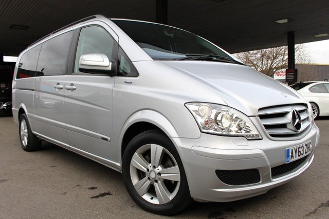 MERCEDES-BENZ VIANO at Derby Trade Cars