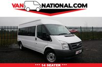 USED 2011 11 FORD TRANSIT 2.2 430 MINIBUS 14 SEATER 100 BHP **** READY TO WORK ***** DRIVE AWAY TODAY ****