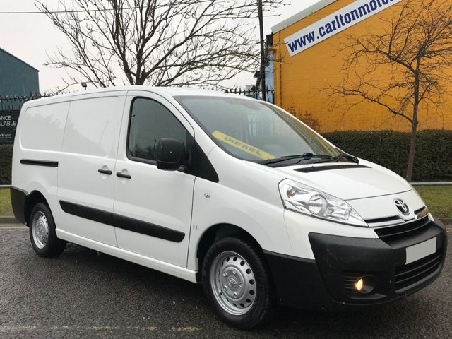 2013 63 TOYOTA PROACE 2.0 L2H1 HDI 1200 [ MOBILE WORKSHOP ] LWB VAN LOW MILEAGE 130 BHP