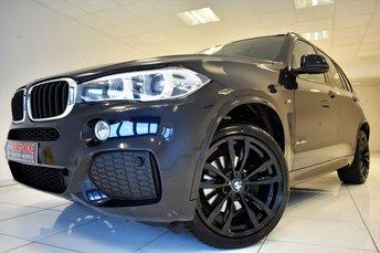 2014 BMW X5 XDRIVE30D M SPORT AUTOMATIC £28250.00