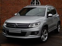 USED 2013 63 VOLKSWAGEN TIGUAN 2.0 R LINE TDI BLUEMOTION TECHNOLOGY 4MOTION 5d 139 BHP