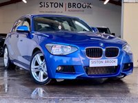 USED 2013 13 BMW 1 SERIES 2.0 118D M SPORT 5d 141 BHP FULL SERVICE HISTORY