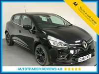 USED 2017 67 RENAULT CLIO 1.2 DYNAMIQUE S NAV TCE 5d AUTO 117 BHP SERVICE HISTORY - ONE OWNER- SAT NAV - HALF LEATHER - AIR CON - REAR SENSORS - BLUETOOTH - DAB