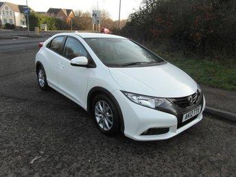 2012 HONDA CIVIC 1.8 i-VTEC EX 5 door Petrol £7995.00