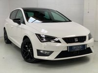 USED 2015 65 SEAT LEON 2.0 TDI FR TECHNOLOGY 5d 184 BHP Excellent Condition with Huge Spec including Sat Nav, Leather, Cruise, Pan Roof,