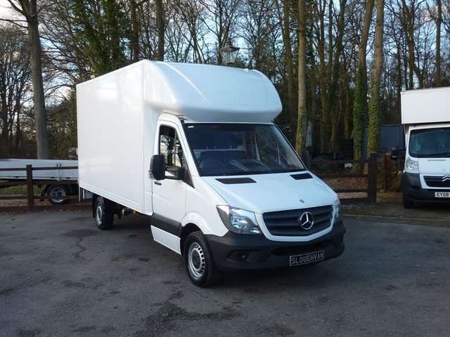 00006e27f7 2014 64 MERCEDES-BENZ SPRINTER 2.1 313 CDI LUTON WITH TAIL LIFT
