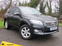 USED 2011 61 TOYOTA RAV4 2.2 XT-R D-4D 5d  FULL LEATHER AND ALCANTARA INTERIOR MAKES THIS VEHICLE A LOOKER