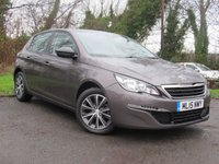 USED 2015 15 PEUGEOT 308 1.2 PURETECH S/S ACTIVE 5d  **GREAT FAMILY CAR**