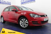 USED 2014 14 VOLKSWAGEN GOLF 1.6 SE TDI BLUEMOTION TECHNOLOGY 5d 103 BHP 1 OWNER - EXCELLENT SERVICE HISTORY- FREE ROAD TAX - ALLOY WHEELS - MASSIVE MPG - BLUETOOTH