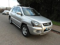 USED 2008 08 KIA SPORTAGE 2.0CRDi Auto 2WD XE Diesel Automatic Diesel. Automatic. Low miles.
