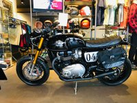 2018 TRIUMPH THRUXTON 1200cc THRUXTON 1200 R DOWN AND OUT CUSTOM £13500.00