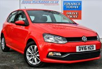 USED 2016 16 VOLKSWAGEN POLO 1.0 SE 5d Petrol Hatchback with DAB Digital Radio Low Running Costs Low Road Tax and High 60mpg PREVIOUSLY LOCALLY OWNED