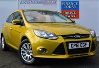 USED 2012 61 FORD FOCUS 1.6 TITANIUM 5d Petrol Hatchback AUTO Great Value For Money Automatic with Rear Parking Sensors 1 FORMER KEEPER