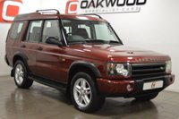 USED 2005 54 LAND ROVER DISCOVERY 2 2.5 LANDMARK TD5 5d 136 BHP LOTS OF MONEY SPENT + 7 LEATHER SEATS + IMMACULATE ALLOYS