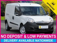USED 2014 14 VAUXHALL COMBO 1.3 CDTI ecoFLEX LWB L2H1 2300 PANEL VAN TWIN SLIDING DOORS LONG WHEEL BASE STOP/START