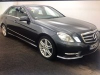 2012 MERCEDES-BENZ E CLASS 2.1 E220 CDI BLUE-EFFICIENCY AMG SPORT 4d AUTO 170 BHP £11495.00